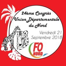 congrès 2018 union départementale force ouvière nord