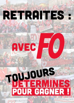 RETRAITES – Manifestation Mercredi 29 janvier 2020